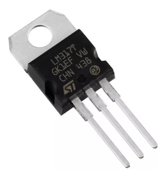 5un Regulador De Tensão Lm317 Lm317t Eletronica