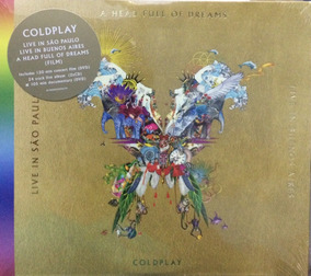 2 Cds + 2dvds Coldplay - Live In São Paulo & In Buenos Aires