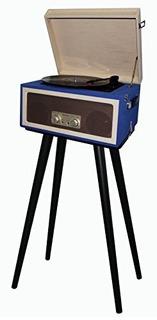 Placa Giratoria Portátil Techplay Cta99 Blue 3speed Con So
