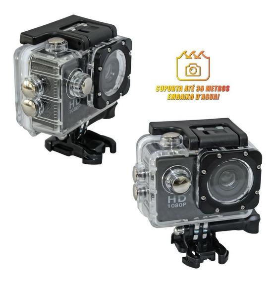 Câmera Filmadora Sports Full Hd 1080p Aprov D