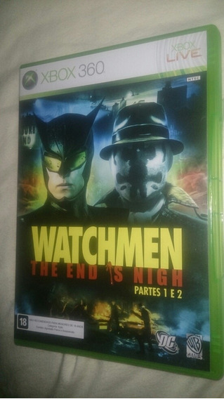 Watchmen Partes 1 E 2 Jogo Xbox360 Batman