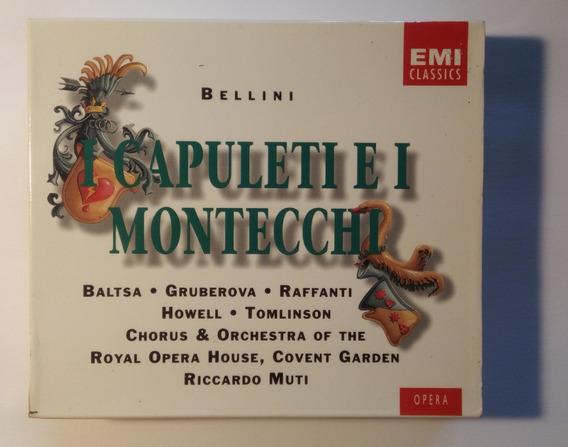 Bellini Box Imp 2 Cds I Capuleti E I Montecchi 1985 Muti Emi