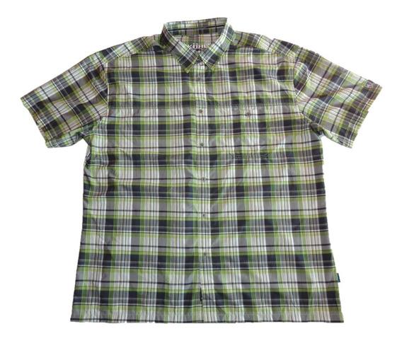 Kühl Camisa De Caballero 2 X L Fit M C Cuadros Nueva