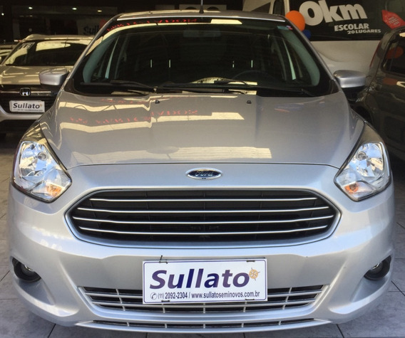 Ka Sedan Se Plus 1.0 - Unico Dono-sem Entrada - 60 R$ 1.049