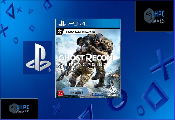 Ghost Recon Breakpoint-aluguel 15 Dias -ps4-playstation 4