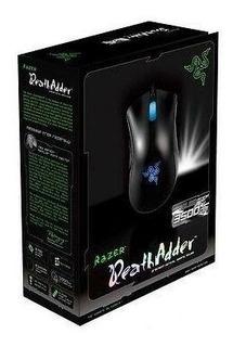 Razer Deathadder 3500dpi Mouse Juegos Ligero Azul De La-3972