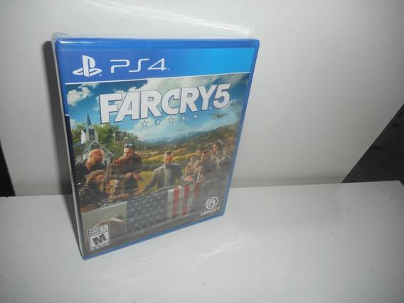 Farcry 5 Ps4 Mídia Física Novo Lacrado