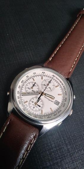 Relógio Seiko Cronógrafo 7t32 7c69 Lindo Social