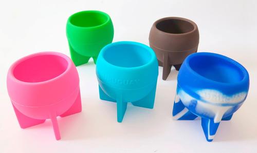 Imagen 1 de 5 de Mates Silicona (variedad De Colores)!!!
