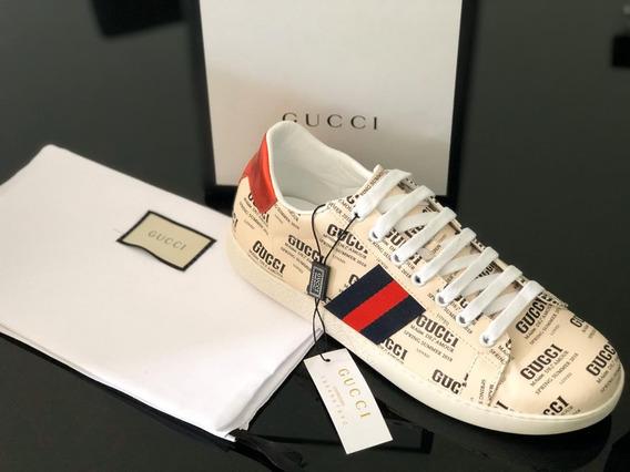 Tenis Gucci # 8 Caballero Calidad Top Quality