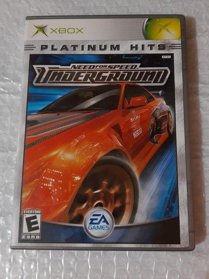 Need For Speed Underground Original Xbox Completo