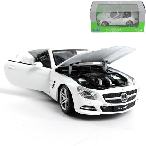 Auto Mercedes Benz Sl500 Coleccion Welly 2012 Replica 1:24