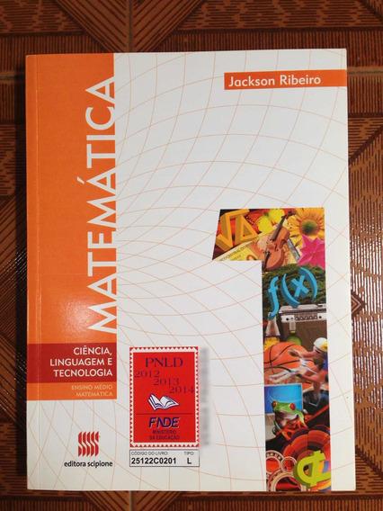 Livro Matemática Ensino Médio Jackson Ribeiro 1ª Edição 2012