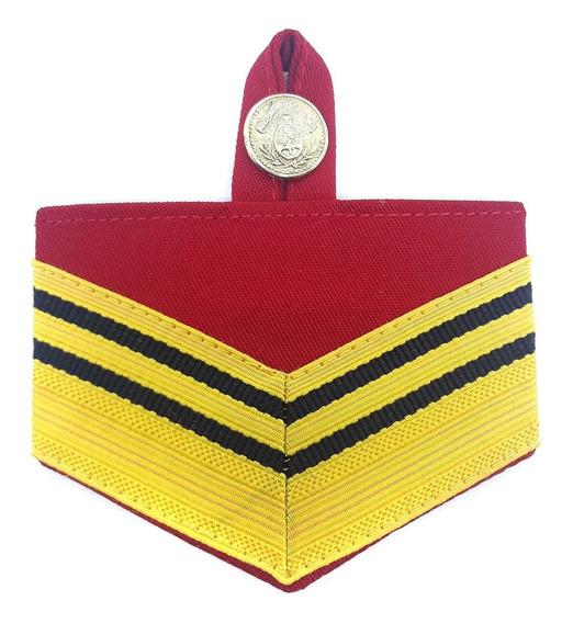 Jerarquía Pectoral Cabo 1ro Con Botón Patrio