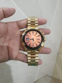Diesel On Smartwatch Semi Novo Completo Na Caixa