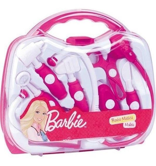 Barbie Kit Medica Com Maleta