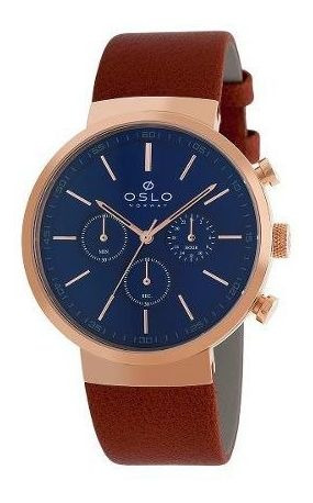 Relógio Oslo Masculino Omrsccvd0002 D1mx