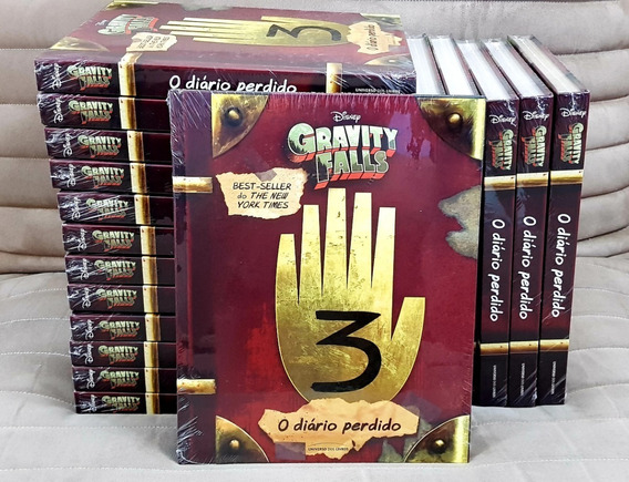 Livro Gravity Falls Diário Perdido