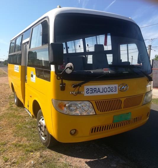 Higer Camioneta Escolares Klq 6608 25 Niños
