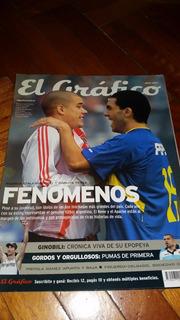 Revista El Gráfico Nº 4316 Julio 2003 Tevez Y D´alessandro