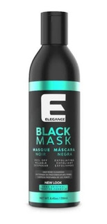 Mascarilla Negra Elegance Carbon Activado 250ml Envio Gratis