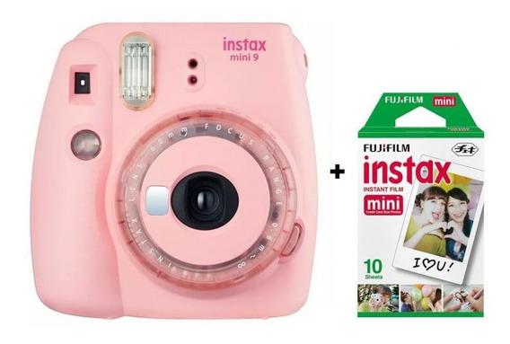 Câmera Instantânea Fujifilm Instax Mini 9 - Rosa Chicle
