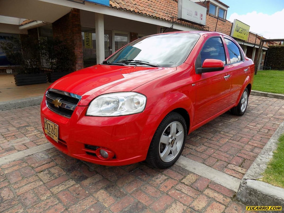 Chevrolet Aveo Emotion Mt 1600 Aa