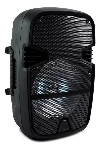 Bafle Amplificado 8 Pulgadas Bocina Luces Led Karaoke Tws /e