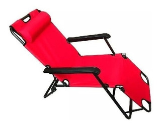 Reposera Plegable 153 Envio Playa Jardin Camping Reclinable
