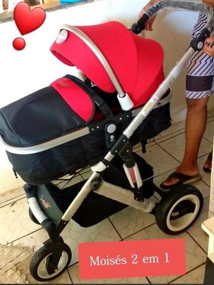 Baby Car Stroller Moises Berco Luxo Importado Novo