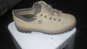 zapatos timberland de lona