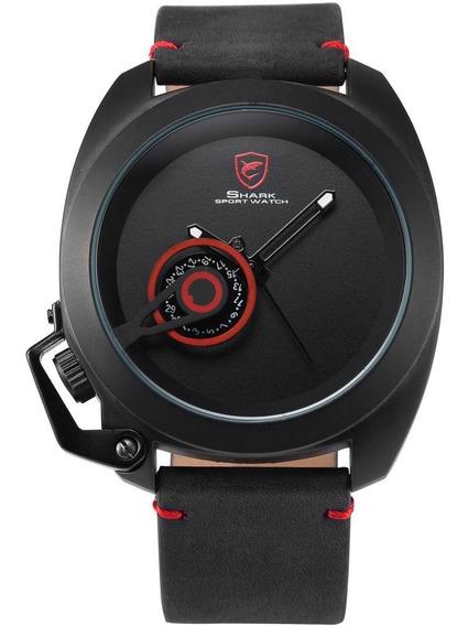 Desh078 Crazy Horse Belt Relógio De Quartzo Decoração À Mão