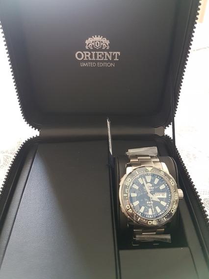 Relógio Orient Poseidon Titânio Diver Automático F49tt001