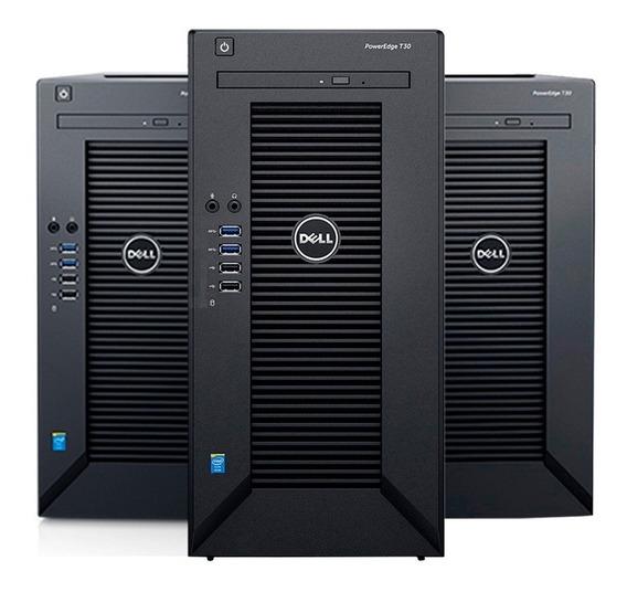 Servidor Poweredge Dell T30 Xeon E3-1225v5 8gb 2tb Hd Cuotas