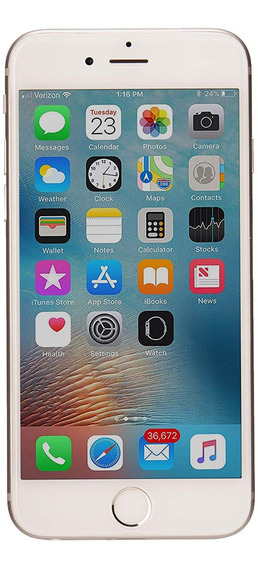 Apple iPhone 6 64gb Plata