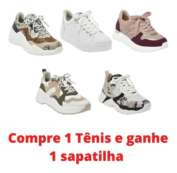 Tênis Feminino Via Marte Sneaker Lançamento Multicor