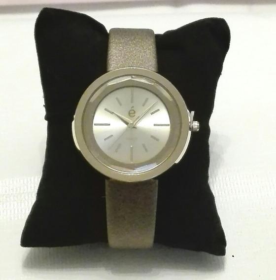 Reloj Dorado Esika