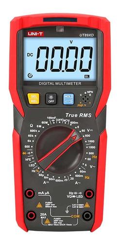 Multímetro Digital Ut89xd Uni-t