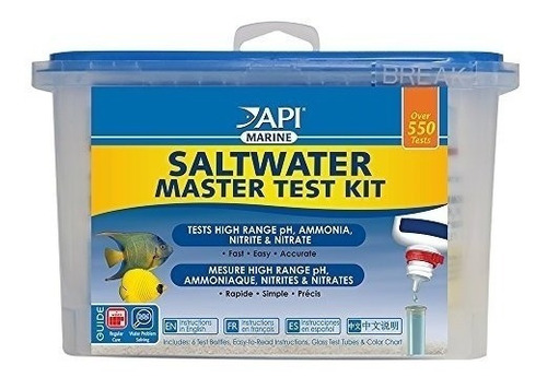 Imagen 1 de 6 de Api Saltwater Master Test Kit