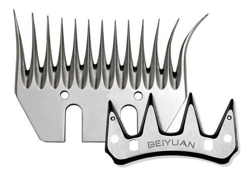 Imagen 1 de 10 de Cuchilla Beiyuan - Peine Abierto Y Cortante Para Esquiladora
