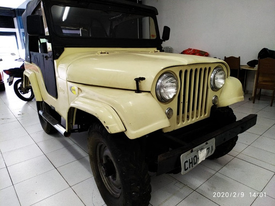 Jeep Willys Cj5 Bege 1964