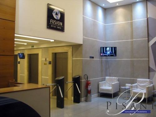 Sala Comercial Com 21m² No Fusion, Edificio Moderno Em Localizaçao Privilegiada - Sa00072 - 33974273