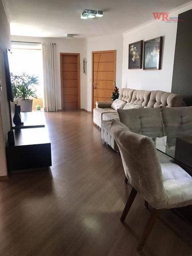 Imagem 1 de 30 de Apartamento Com 3 Dormitórios À Venda, 138 M² - Centro - São Bernardo Do Campo/sp - Ap3482