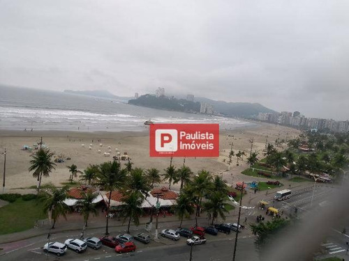 Apartamento Com 1 Dormitório À Venda - José Menino - Santos/sp - Ap28839