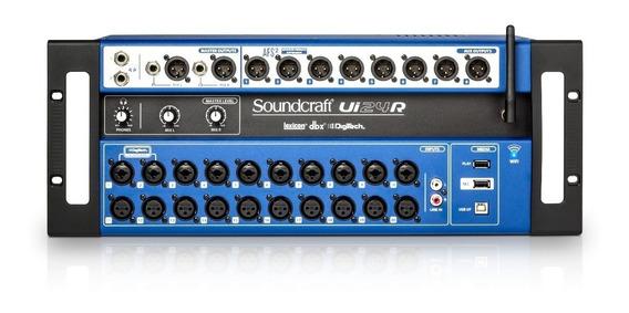 Mesa Som Digital Soundcraft Ui24r 24 Canais - Loja- Harman