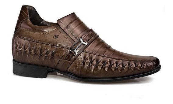 Sapato Masculino Rafarillo Vegas Alth 3261 Você 7 Cm + Alto