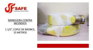 Manguera Contra Incendio Blindex 1 1/2 , 15 M