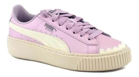 Zapatillas Puma Plataforma Scallop Rosa ¡¡envío Gratis!!