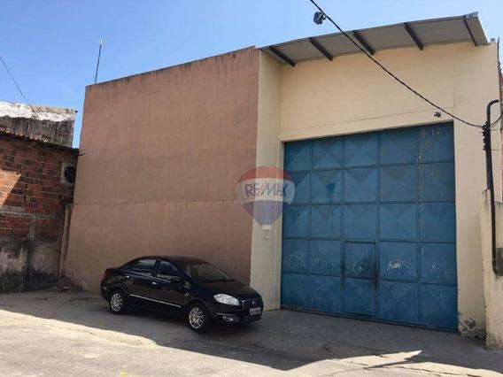 Galpão De 553,52m² Próximo Ao Riomar - Ga0001