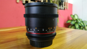 Lente Rokinon 85mm Cine Canon Ef